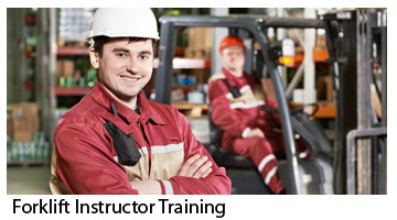 Forklift Instructor Training