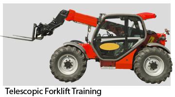Telehandler Forklift Training