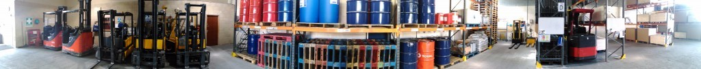 HL Training Services Warehouse Panoramic